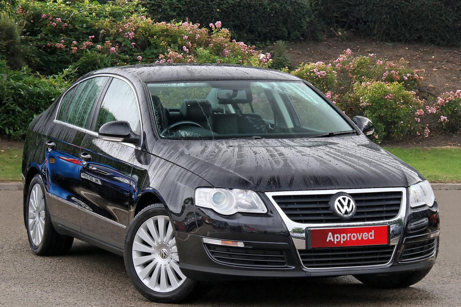 used volkswagen passat 2 0 highline tdi cr dpf 4dr diesel. Black Bedroom Furniture Sets. Home Design Ideas