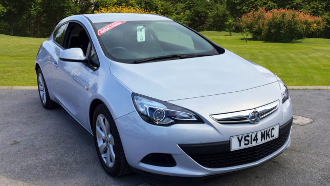 Vauxhall Astra GTC 1.4T 16V Sport 3Dr Petrol Coupe