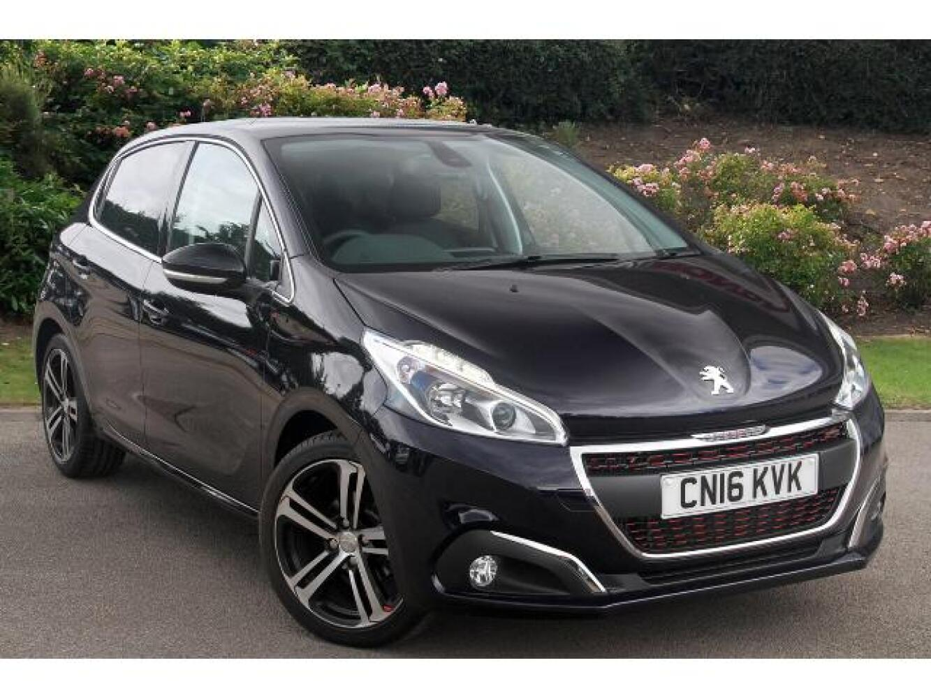 used peugeot 208 1 2 puretech 110 gt line 5dr petrol hatchback for sale vertu honda. Black Bedroom Furniture Sets. Home Design Ideas