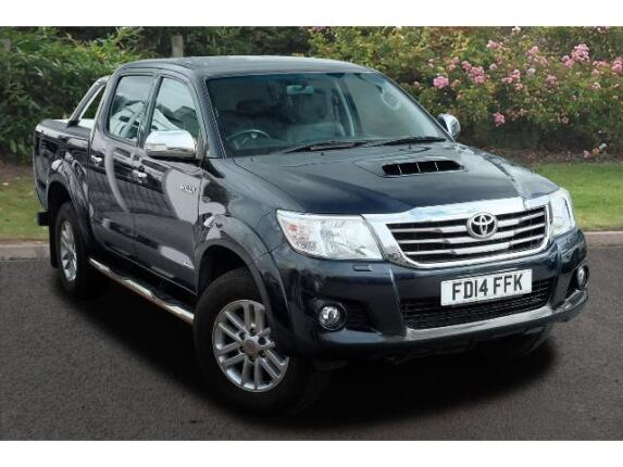 Toyota Hilux Diesel Invincible D/Cab Pick Up 3.0 D-4D 4Wd 171 Auto