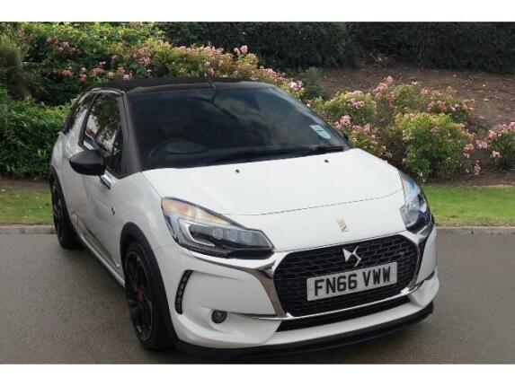 DS 3 1.6 Thp 210 Performance 2Dr Petrol Cabriolet