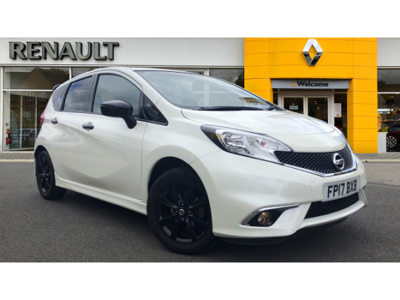 Nissan Note 1.2 Black Edition 5Dr Petrol Hatchback