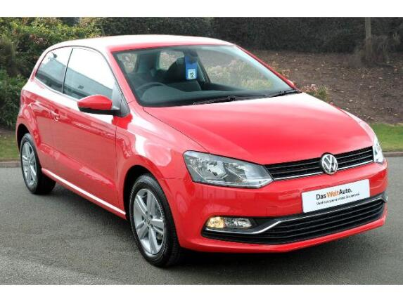 Volkswagen Polo 1.0 Match Edition 3Dr Petrol Hatchback