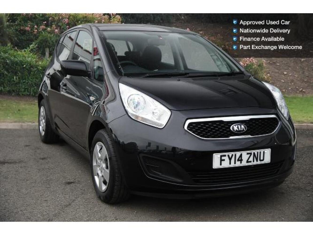 used kia venga 1 4 crdi 1 air 5dr diesel hatchback for sale vertu honda. Black Bedroom Furniture Sets. Home Design Ideas