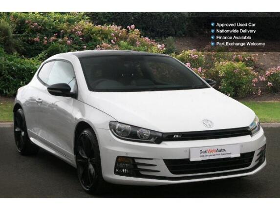 Volkswagen Scirocco 2.0 Tdi 184 Bmt R Line Black Edition 3Dr Dsg Diesel Coupe