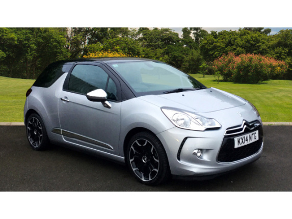 Citroen DS3 1.6 E-Hdi 115 Airdream Dsport Plus 3Dr Diesel Hatchback