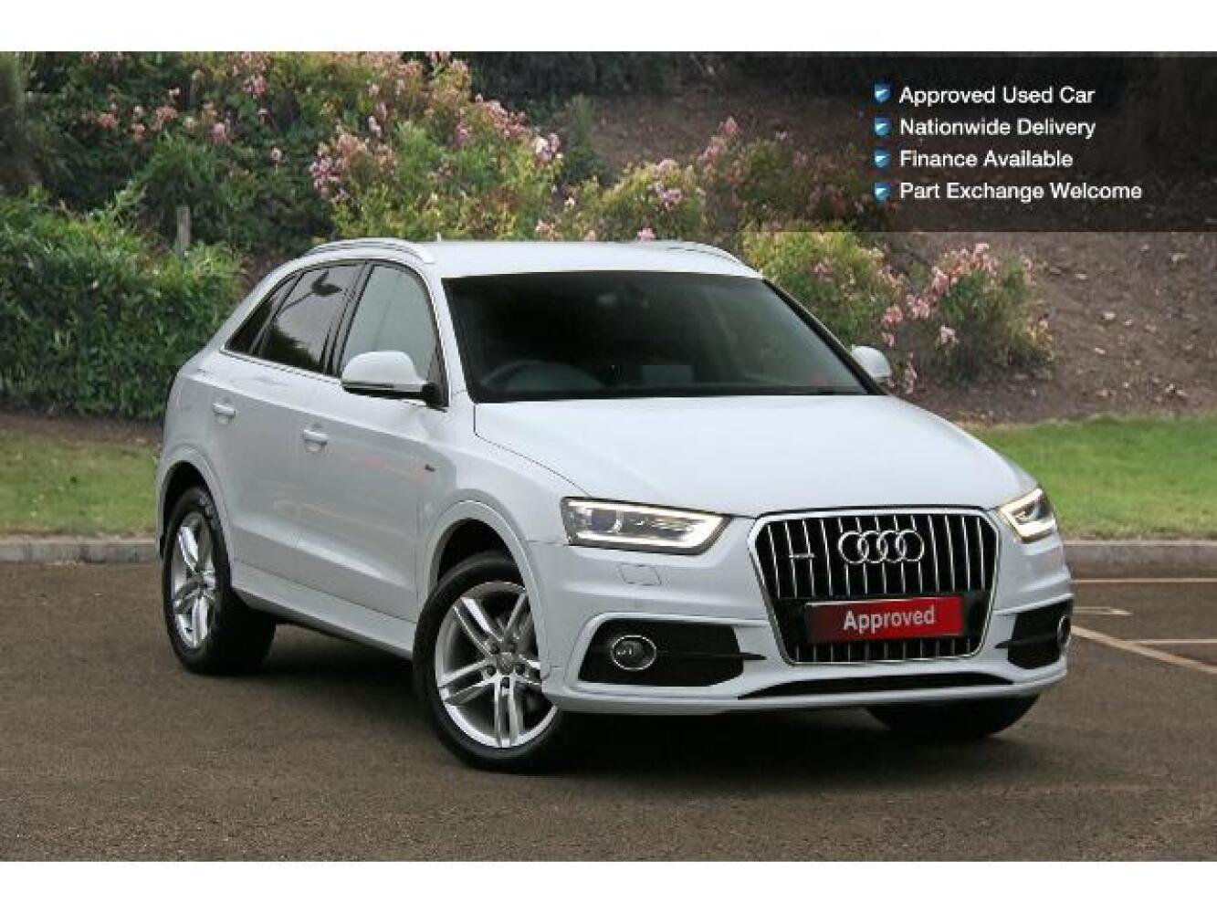 used audi q3 2 0 tdi quattro s line 5dr s tronic diesel. Black Bedroom Furniture Sets. Home Design Ideas