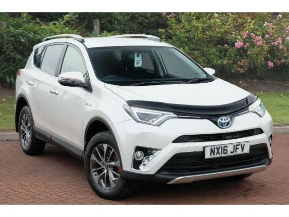 Toyota RAV4 2.5 Vvt-I Hybrid Business Edition Plus 5Dr Cvt 2Wd Hybrid Estate