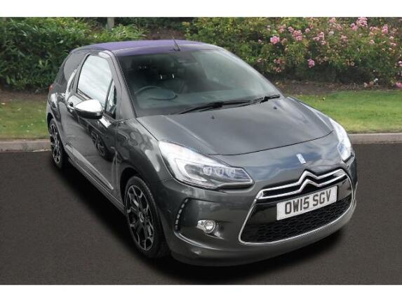 Citroen DS3 1.6 Thp 16V 165 Dsport Plus 3Dr Petrol Hatchback