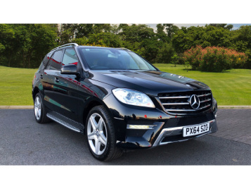 Mercedes-Benz M-Class Ml350 Cdi Bluetec Amg Sport 5Dr Auto Diesel Station Wagon