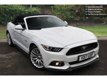 Ford Mustang 5.0 V8 Gt [custom Pack] 2Dr Petrol Convertible