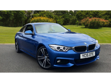 BMW 4 Series 430D M Sport 2Dr Auto [professional Media] Diesel Coupe
