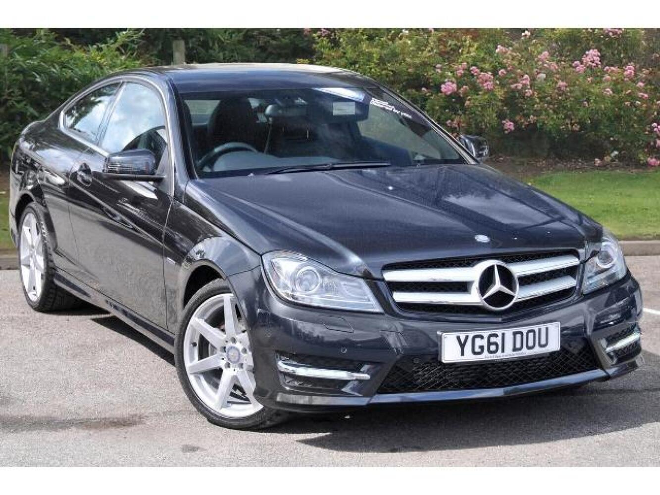 used mercedes benz c class c250 cdi blueefficiency amg sport 2dr auto diesel coupe for sale. Black Bedroom Furniture Sets. Home Design Ideas