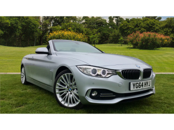 BMW 4 Series 420D Luxury 2Dr Diesel Convertible