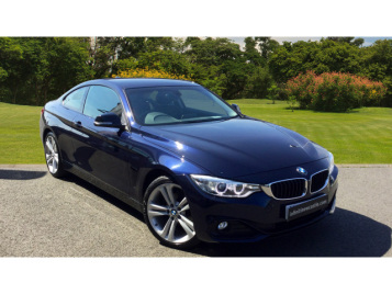 BMW 4 Series 418D Sport 2Dr Auto [business Media] Diesel Coupe